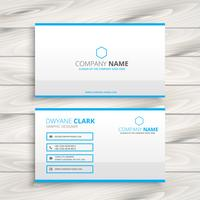 simple business card  template vector design illustration