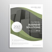elegant business brochure flyer poster template design in size A