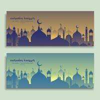 eid and ramadan festival banners