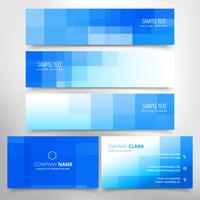 business card and headers collection