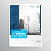 company business brochure presentation template in modern clean