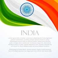 indian flag background template vector design illustration