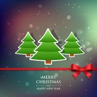 diseño de saludo de navidad