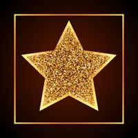 golden dots star