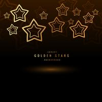 golden stars background