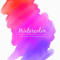 Aquarell Colroful Fleck Hintergrund Vektor Design Illustration