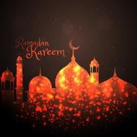 kreatives Moscheendesign mit Funkeln