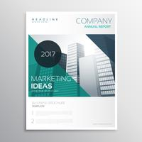 modern business annual report flyer brochure leaflet template