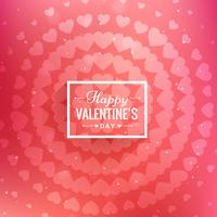 heureux Valentin salutation vector illustration design