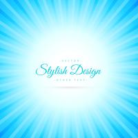 beautiful sky blue sunburst background
