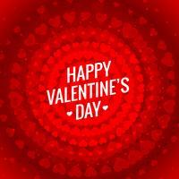 hjärtan röd bakgrundsmall vektor design illustration