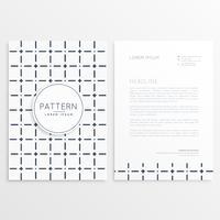modèle de brochure d'entreprise minimale