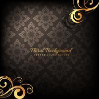 eleganter Premium-Luxus-Blumenhintergrund