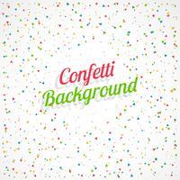 Fondo de celebración con confeti colorido