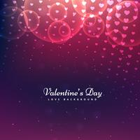 brillant Saint Valentin fond vector design illustration