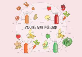 Smoothie and Ingrdients Vol 3