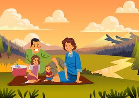 1950s Family Picnic