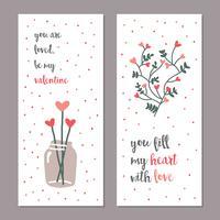 Vrouwelijke Valentijnskaarten