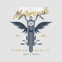 Vintage Motorcycles Emblem  vector