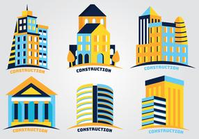 Construction Logos Vector Pack
