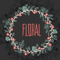 Floral Spring Wreath