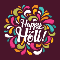 Holi Festival of Colors vector