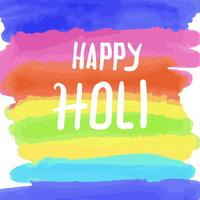 Happy Holi Water Color
