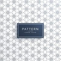 elegant line flower pattern background design