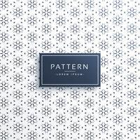 Línea elegante diseño de fondo de patrón de flores
