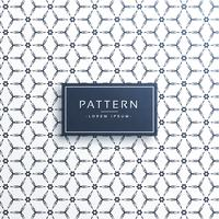 Fondo de vector de forma moderna patrón geométrico