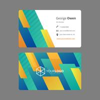 Free Business Card Vector Template