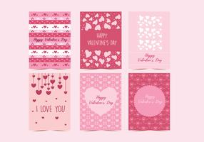 Valentine Cards Vol 2 Vector