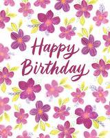 Feliz cumpleaños ilustración