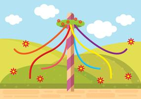 Illustration Of Maypole