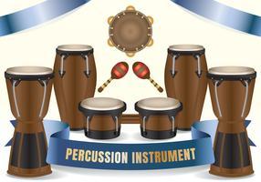 African Ethnic Conga Bongos Salsa Drums
