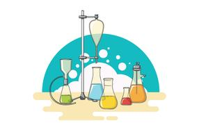 Erlenmeyer Illustration Vector