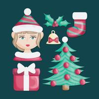 Vector Cute Elf