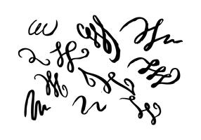 Free Sketch Squiggle Ornament Vector