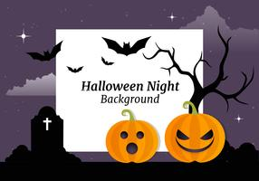 Fondo de vector de Halloween gratis