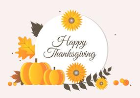Free Autumn Thanksgiving vector background