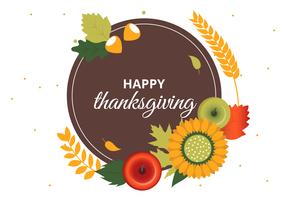 Free Thanksgiving Vector Background