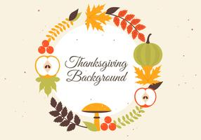 Fond de vecteur gratuit Thanksgiving