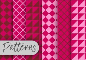 Pink Geometric Pattern set
