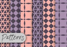 Pastel Geometric Pattern set