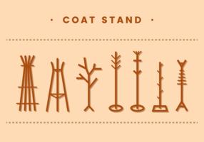 Coat Stand Vector