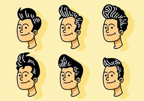 Greaser Vector Icons