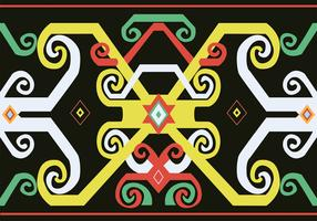 Dayak Pattern Design