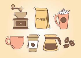Hand Drawn Coffee Vector