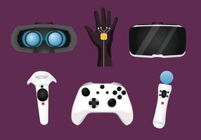 Virtual Reality Experience Tools Vector Pack