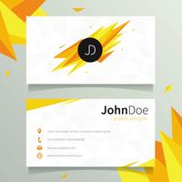Graphic Designer Name Card Template